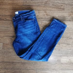Gap 1969 True Skinny Ankle Jeans Faded 30R